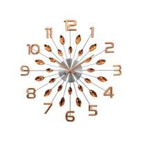 Lavvu LCT1192 Nástené hodiny Crystal Sun 49 cm, ružová
