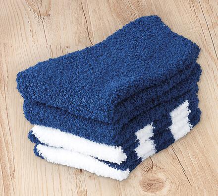 Ponožky na spaní, modré