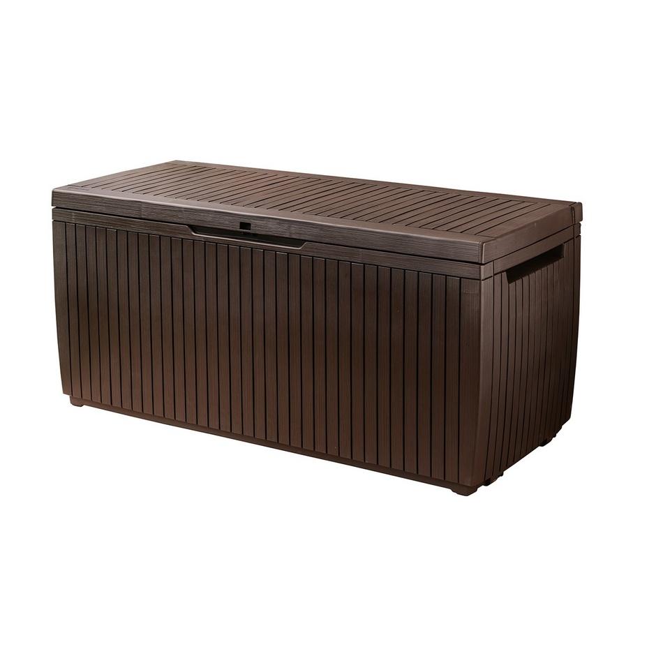 KETER SPRINGWOOD Stogare zahradní úložný box 302 l hnědá 17202378