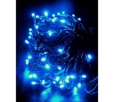 Vánoční řetěz Solight, 60 LED 10 m 1V01-B modrý