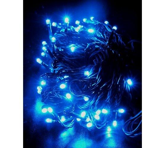 Vianočná reťaz Solight 60 LED 10m 1V01-B modrá