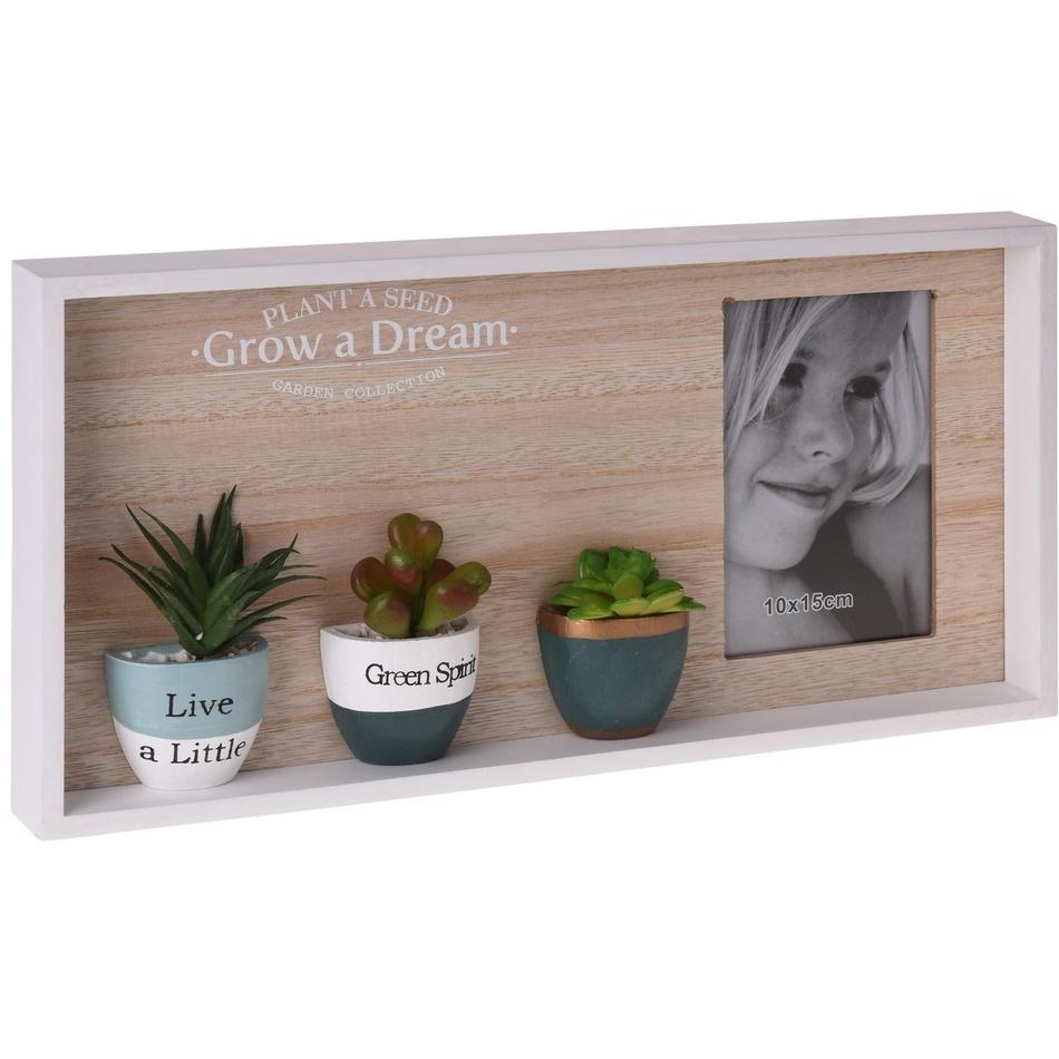 Koopman Fotorámeček Green Spirit, 40 x 20 cm