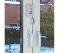 Alarm na okna a dveře s číselným kódem, Conrad, bílá