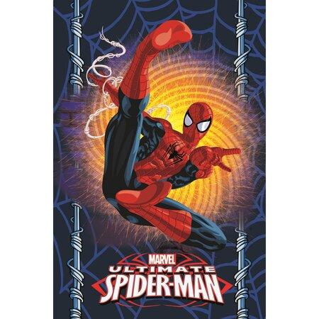 Spiderman gyerek pléd, 100 x 150 cm