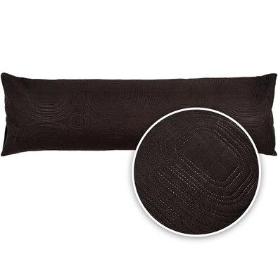 4Home Povlak na relaxační polštář Náhradní manžel Doubleface černá, 50 x 150 cm