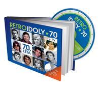 Retro Idoly 70. léta, CD a kniha, modrá