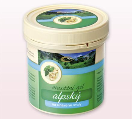Alpský masážní gel Topvet, 250 ml
