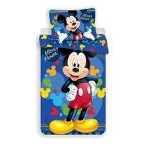 Jerry Fabrics Detské obliečky Mickey Blue 03 micro, 140 x 200 cm, 70 x 90 cm