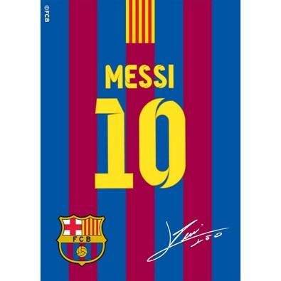 Kusový koberec FCB Messi, 95 x 133 cm