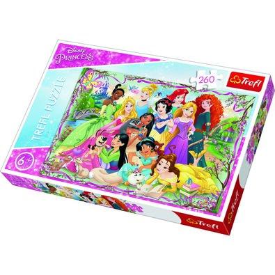 Trefl Puzzle Disney Setkání princezen, 260 dílků