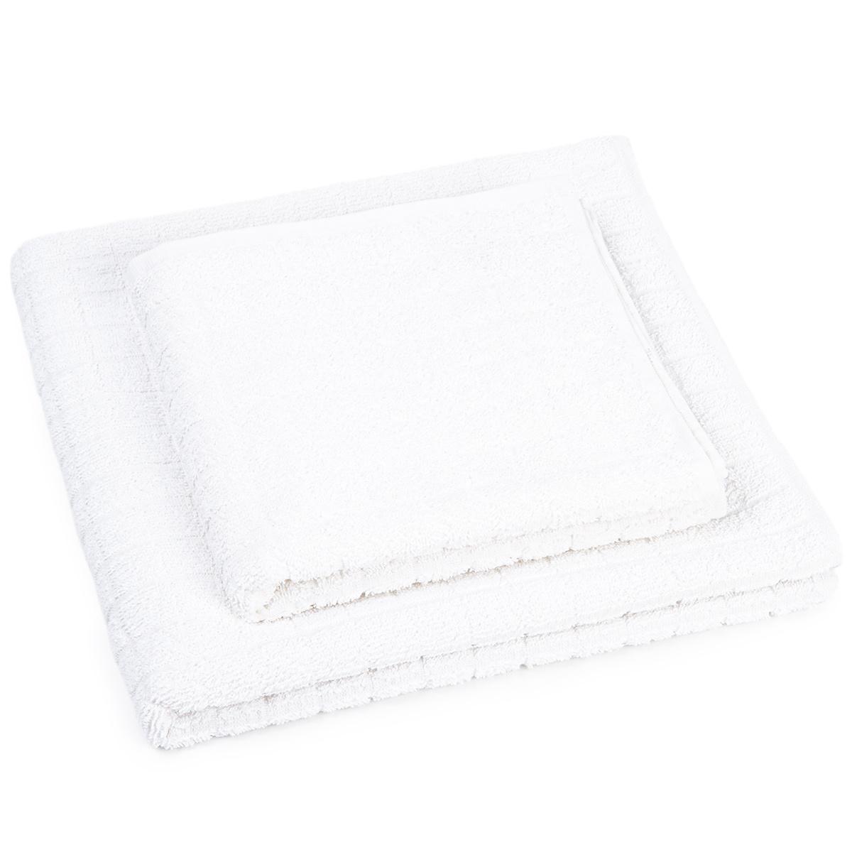 Profod Sada ručníku a osušky Jerry bílá, 50 x 100 cm, 70 x 140 cm