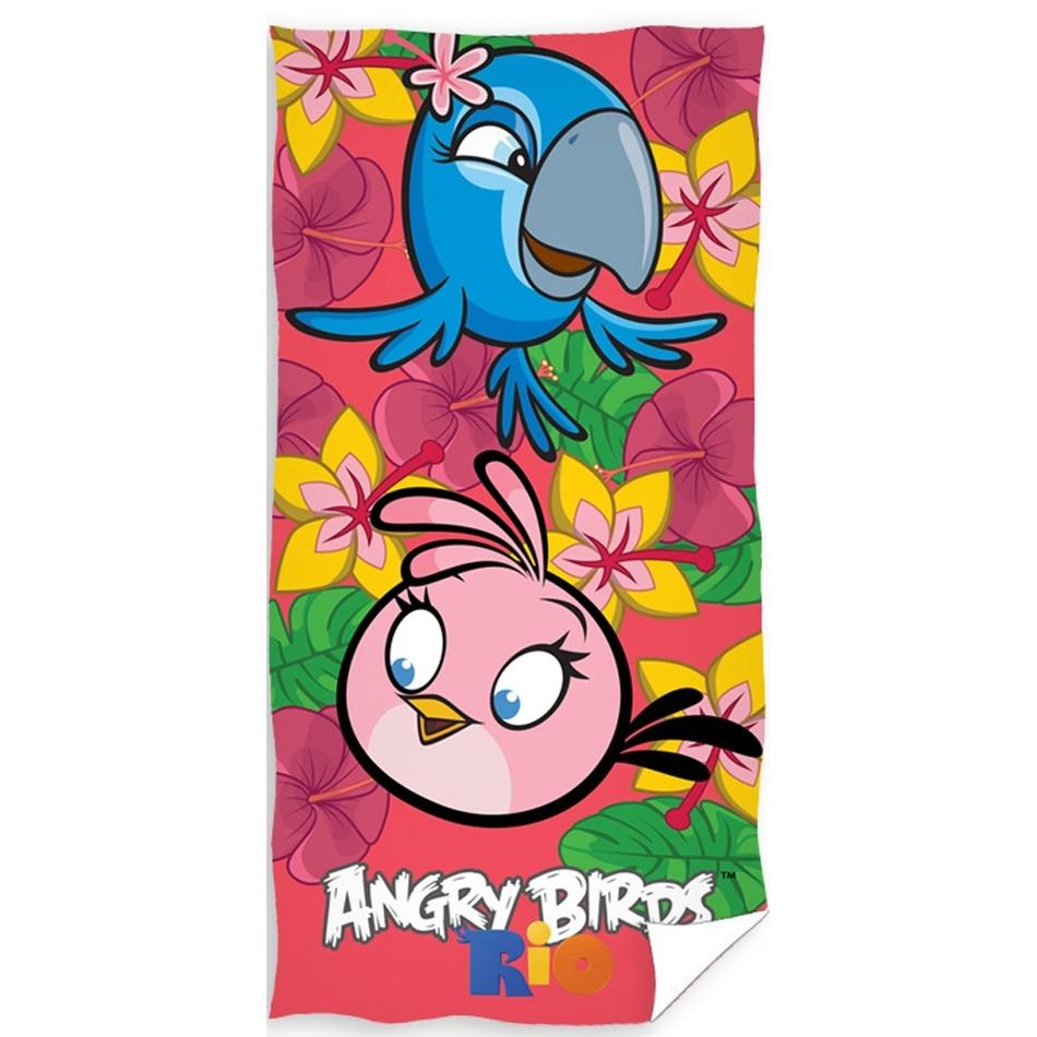 Tip Trade Osuška Angry Birds Stella, 70 x 140 cm