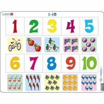 Larsen Puzzle Számtan a legkisebbeknek, 10 darab