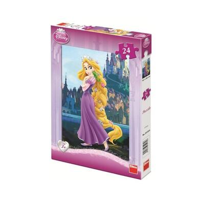 Puzzle princezna Rapunzel