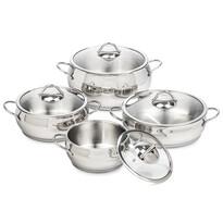 4Home 8dílná sada nádobí Bella
