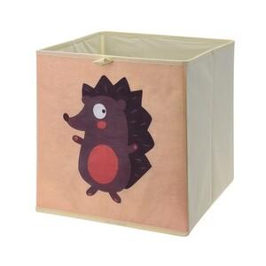Úložný box na hračky 32 x 32 x 30 cm, ježek