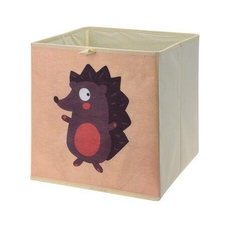 Úložný box na hračky 32 x 32 x 30 cm, ježko