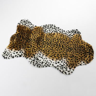 Imitace kožešiny Trendy leopard, 70 x 100 cm, hnědá, 70 x 100 cm