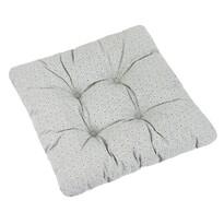 Sedák Adéla Mandely šedá, 40 x 40 cm