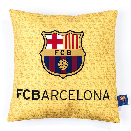 Polštářek FC Barcelona 02, 40 x 40 cm