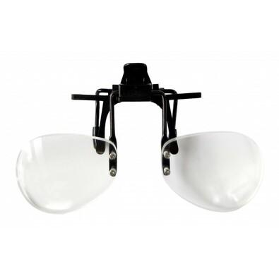 Lupa na brýle, 10 cm