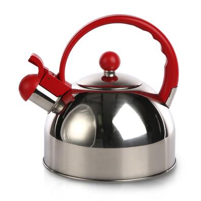 Nerezový čajník Everytime 2 l, červená