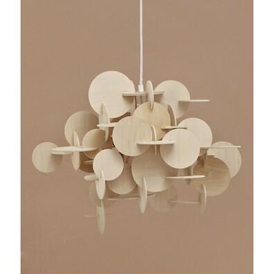 Lustr Bau Lamp S 44 cm, přírodní