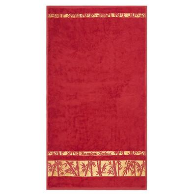 Ręcznik Bamboo Gold czerwony, 50 x 90 cm