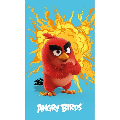 Osuška Angry Birds red, 70 x 120 cm