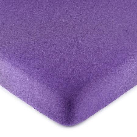 4Home jersey prostěradlo fialová, 140 x 200 cm