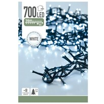 Instalaţie pom de Crăciun Twinkle, alb , 700 LED