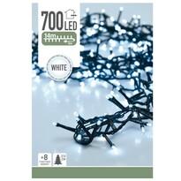 Svetelná vianočná reťaz Twinkle biela, 700 LED