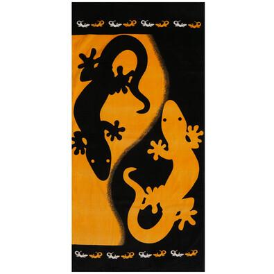 Plážová osuška The lizard, 71 x 148 cm