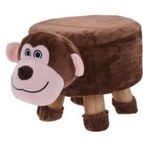 Taburet pentru copii Maimuță, 44 x 28 x 24 cm