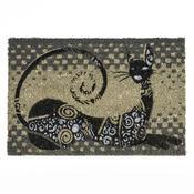 Kokosová rohožka ležící kočka, 40 x 60 cm