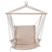 Fotel do zawieszenia Comfortable beżowy, 100 x 53 cm