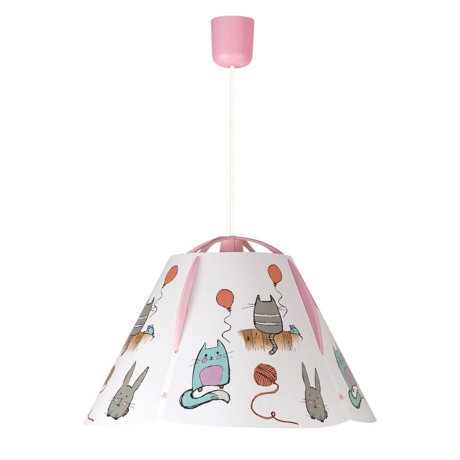 Rabalux 4567 Cathy detské stropné svietidlo, ružová