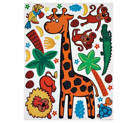 Samolepící dekorace Safari