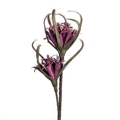 Umělá květina fialová