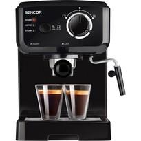 Sencor SES 1710BK espresso pákové, čierna
