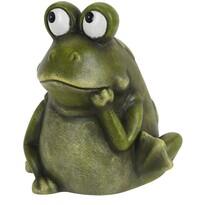 Porcelánová žaba Candice, 17,5 cm
