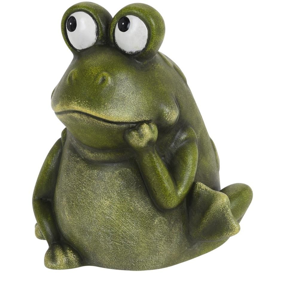 Porcelánová žába Candice, 17,5 cm