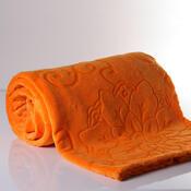 Deka Sissi oranžová, 140 x 200 cm