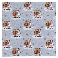 Vianočný obrus Medvede, 100 x 100 cm