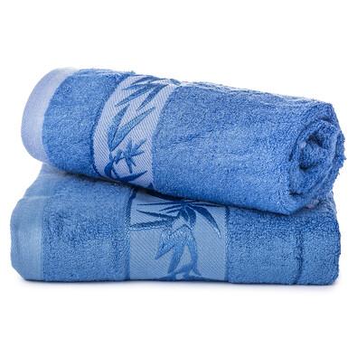 Komplet ręczników bambus Hanoi niebieski