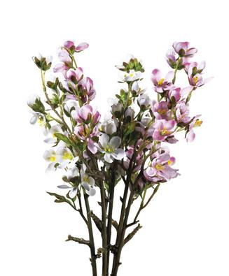 Umelá kvetina čerešňová vetvička 5 ks