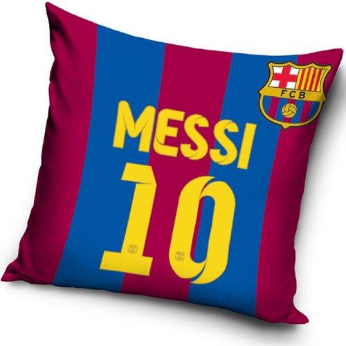 Polštářek FC Barcelona Messi, 40 x 40 cm