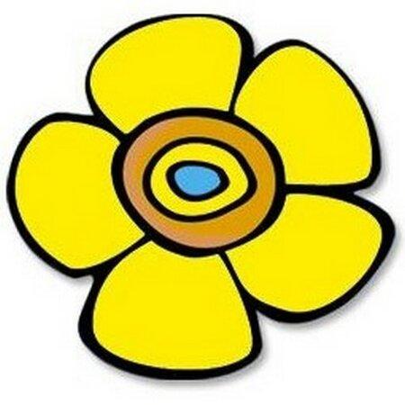 Produktové foto Bellatex Kuchyňská podložka Květina žlutá 10 cm