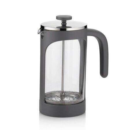 Kela Konvička na čaj a kávu VERONA 1 l, šedá