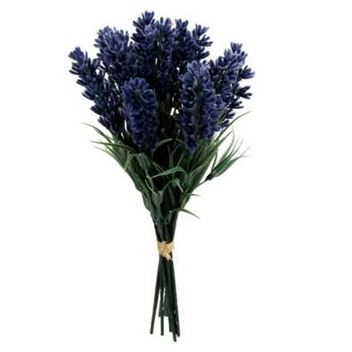 Umělá květina levandule 12 ks